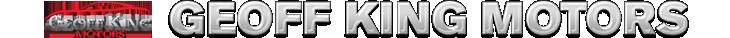 Geoff King Motors logo